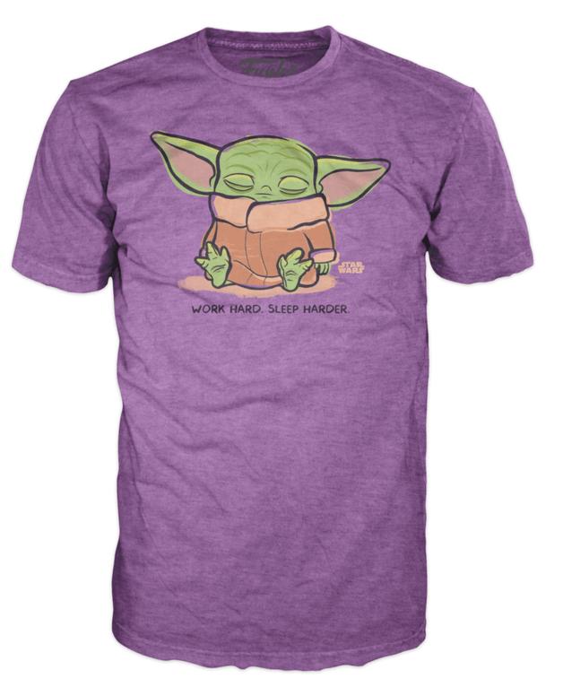 Star Wars: The Child (Sleeping) - Funko T-Shirt (Small)