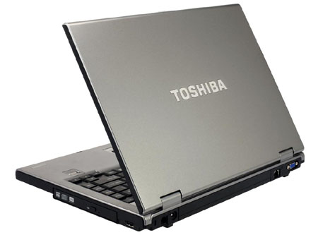 "Toshiba Tecra A9 C2D T8100 2.1GHz 120GB HDD  1GB RAM 15.4"" DVD-SuperMulti (DL) Genuine Microsoft Windows Vista Business  (w/Medi image"