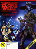 Star Wars: The Clone Wars: Season 2 - Volume 1 on DVD
