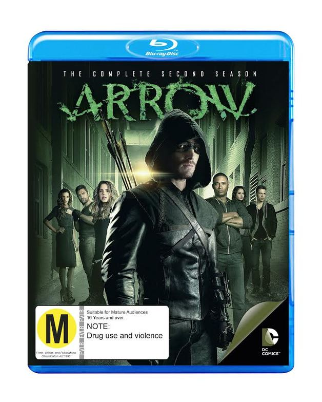 Arrow - The Complete Second Season on Blu-ray