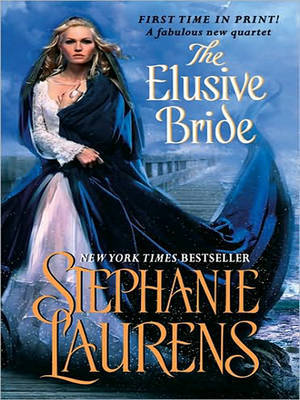 The Elusive Bride: Large Print (Black Cobra Quartet #2) by Stephanie Laurens