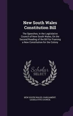 New South Wales Constitution Bill image