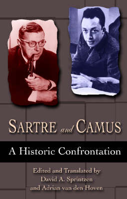 Sartre And Camus by Adrian Van Den Hoven