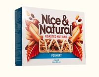 Nice & Natural Roasted Nut Bar - Yoghurt (192g)