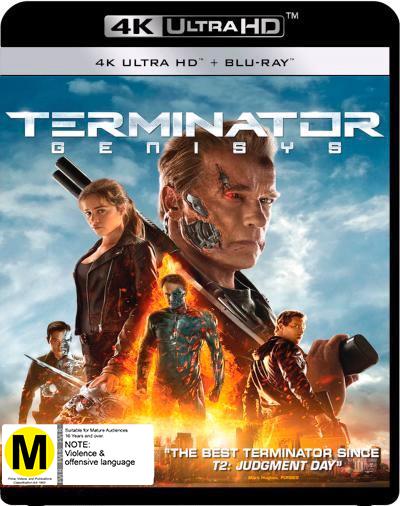 Terminator Genisys on UHD Blu-ray