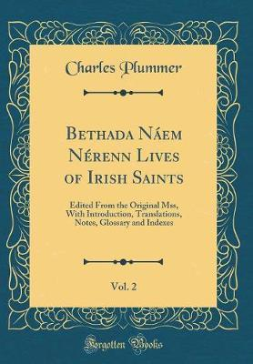 Bethada N�em N�renn Lives of Irish Saints, Vol. 2 by Charles Plummer