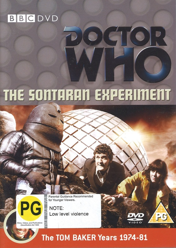 Doctor Who: The Sontaran Experiment on DVD