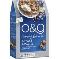 O&G Crunchy Granola - Almond & Vanilla (450g)