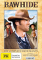 Rawhide - The Complete 6th Season (8 Disc Set) on DVD