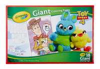 Crayola: Giant Colouring Pages - Toy Story 4 image