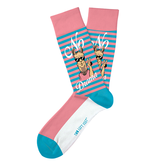 Two Left Feet: No Drama Llama Everyday Socks - Small