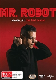 Mr Robot - Season 4.0 (The Final Season) on DVD image