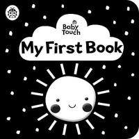 Baby Touch: My First Book: a black-and-white cloth book by Ladybird