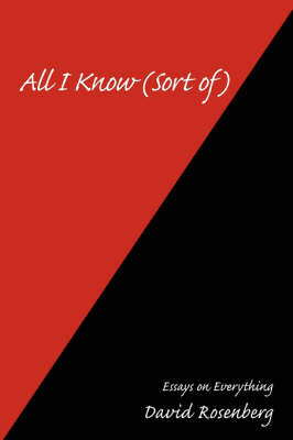 All I Know (Sort Of) by David Rosenberg image