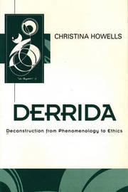 Derrida by Christina Howells image