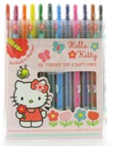 Hello Kitty: Home Sweet Home - Twist Up Crayons