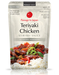Passage to Japan - Teriyaki Chicken Stir Fry Sauce 200g
