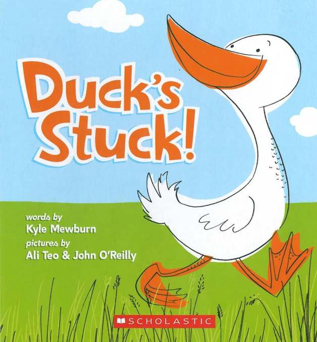 Duck's Stuck! by Kyle Mewburn