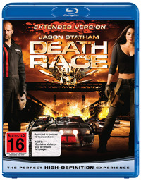 Death Race - Extended Version on Blu-ray