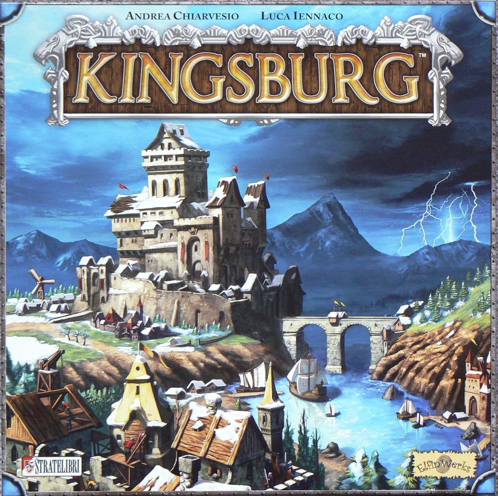 Kingsburg - Board Game image
