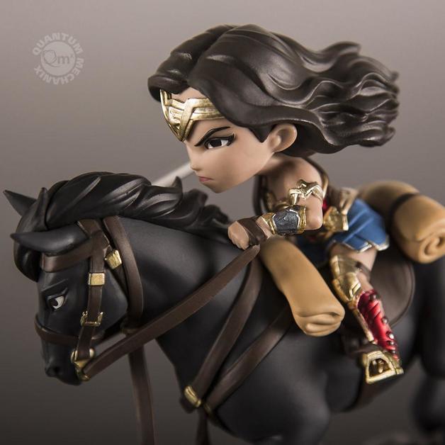 """DC Comics: Wonder Woman On Horse - 6"""" Q-Fig Figure"""