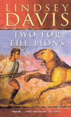 Two for the Lions by Lindsey Davis image
