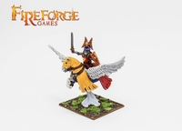 Fireforge Albion's Noble on Pegasus (Fleur-de-lis)