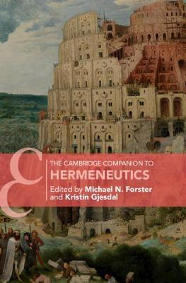 The Cambridge Companion to Hermeneutics image