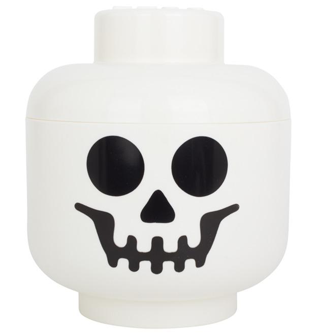 LEGO Storage: Skeleton Head - Small