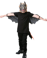 How to Train Your Dragon 3: Toothless Nightfury - Glow in the Dark Accessory Set (Child)