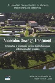 Anaerobic Sewage Treatment Systems by Adrianus Haandel