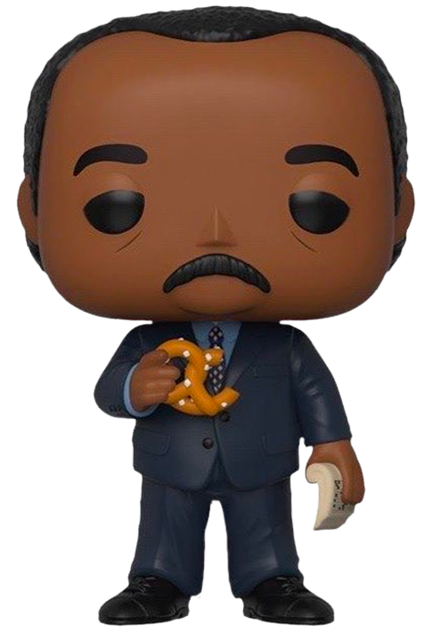 The Office - Stanley (with Pretzel) Pop! Vinyl Figure