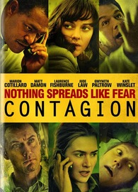 Contagion on DVD image