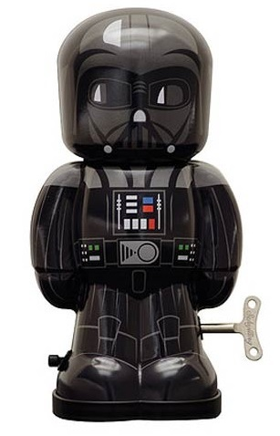"Star Wars - 7.5"" Darth Vader Windup Tin Toy image"