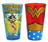 Wonder Woman - Pint Glass 2-Pack - (16 oz.)