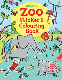 Zoo Sticker and Colouring Book by Jessica Greenwell