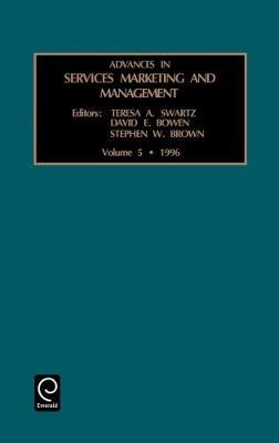 Advances in Services Marketing and Management image