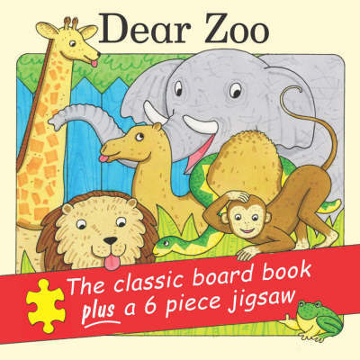Dear Zoo Jigsaw Pack by Rod Campbell