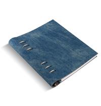 Filofax - A5 Patterns Clipbook - Denim image
