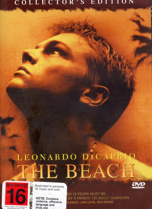 The Beach on DVD image