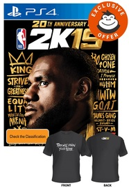 NBA 2K19 Anniversary Edition for PS4 image