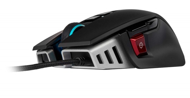 Corsair M65 Elite RGB Tunable FPS Gaming Mouse for PC