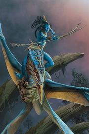 Avatar: Tsu Teys Path - #3 (Cover A) by Sherri Smith