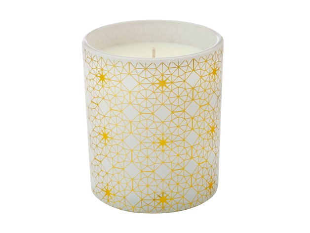 Maxwell & Williams: Starry Night Scented Candle Gold