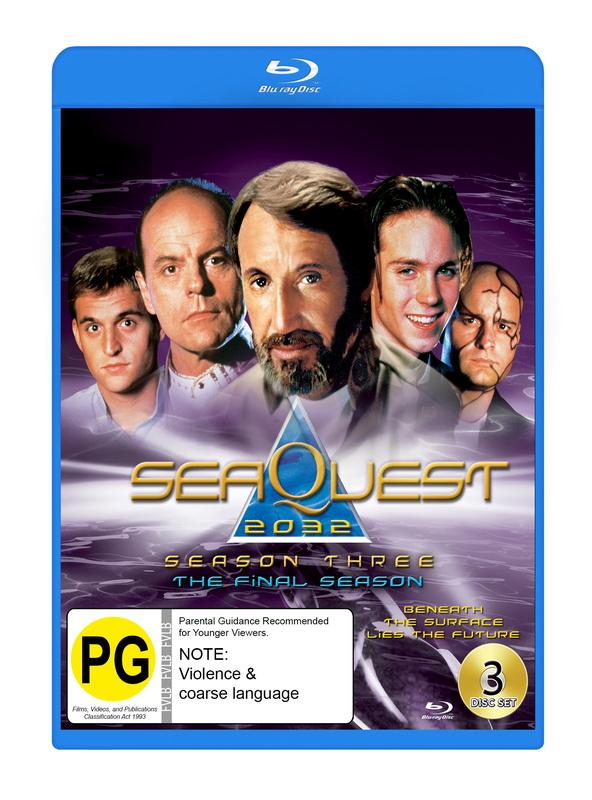 Seaquest DSV (2032): Season 3 on Blu-ray