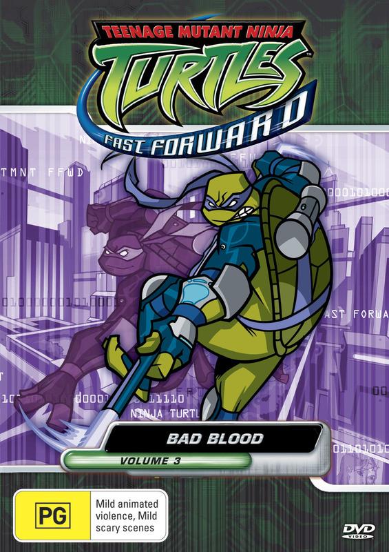 Teenage Mutant Ninja Turtles - Fast Forward: Vol. 3 - Bad Blood on DVD