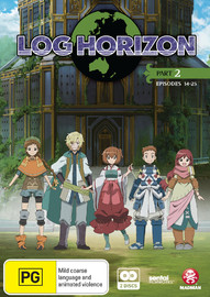 Log Horizon - Part Two on DVD