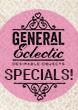 General Eclectic Specials