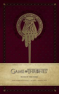 Game of Thrones: King's Hand Journal by Insight Editions image