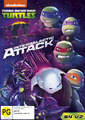 Teenage Mutant Ninja Turtles - Intergalactic Attack on DVD